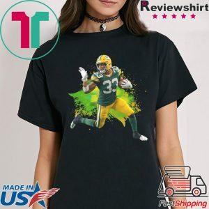 Aaron Jones Green Bay Packers Running Back TShirt