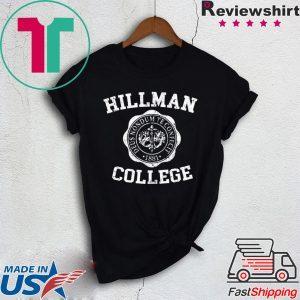 Hillman College Tee Shirt