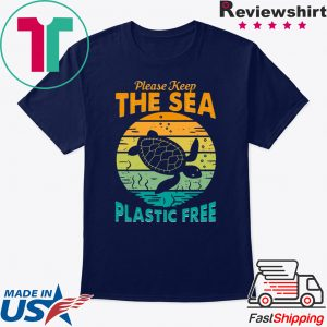 Please keep the sea plastic free tee shirt
