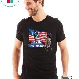 Zero Bark Thirty Conan The Hero Tee Shirt
