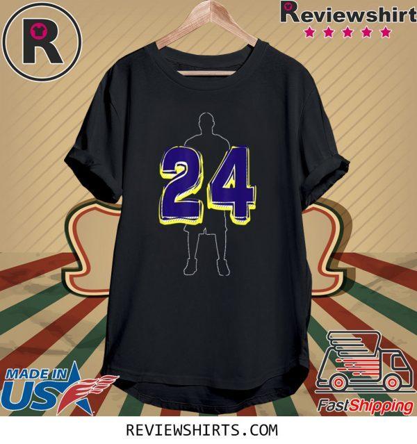 Player Number 24 Basketball Legend 24 2020 Unisex TShirt