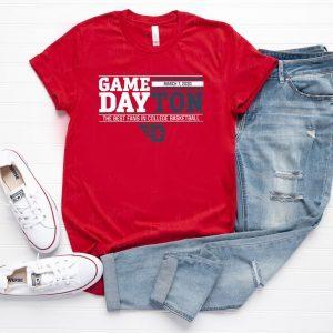 GAMEDAY DAYTON March 7 2020 T-Shirt