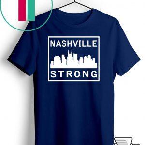 #nashvillestrong Nashville Strong 2020 Shirt