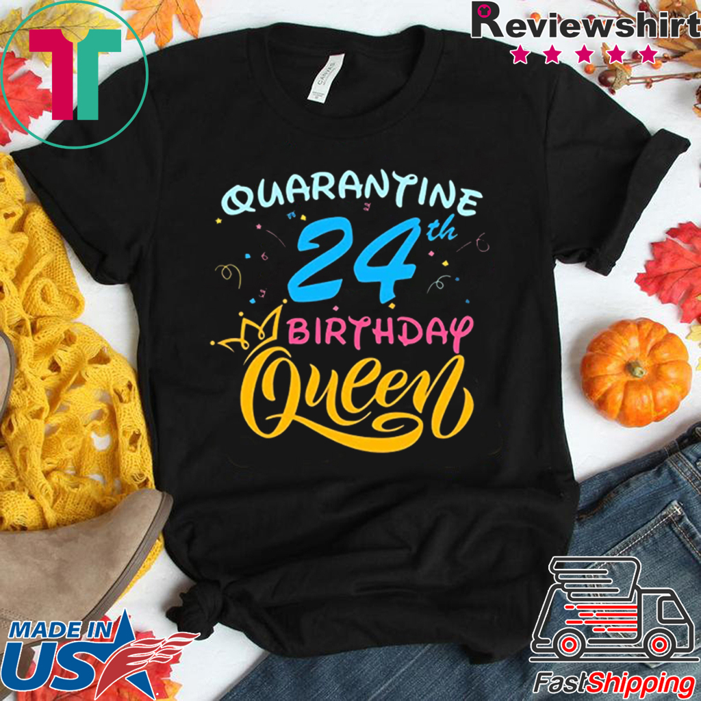 Queens Are Born In 1996 Birthday Ladies Womens T-Shirt Gift Twenty Four 24th