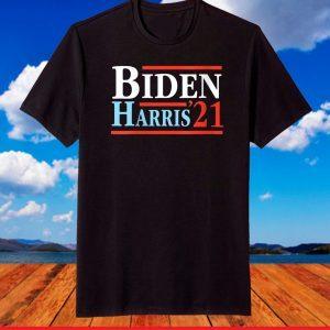 Joe Biden Harris January 2021 Election Victory Inauguration T-Shirt